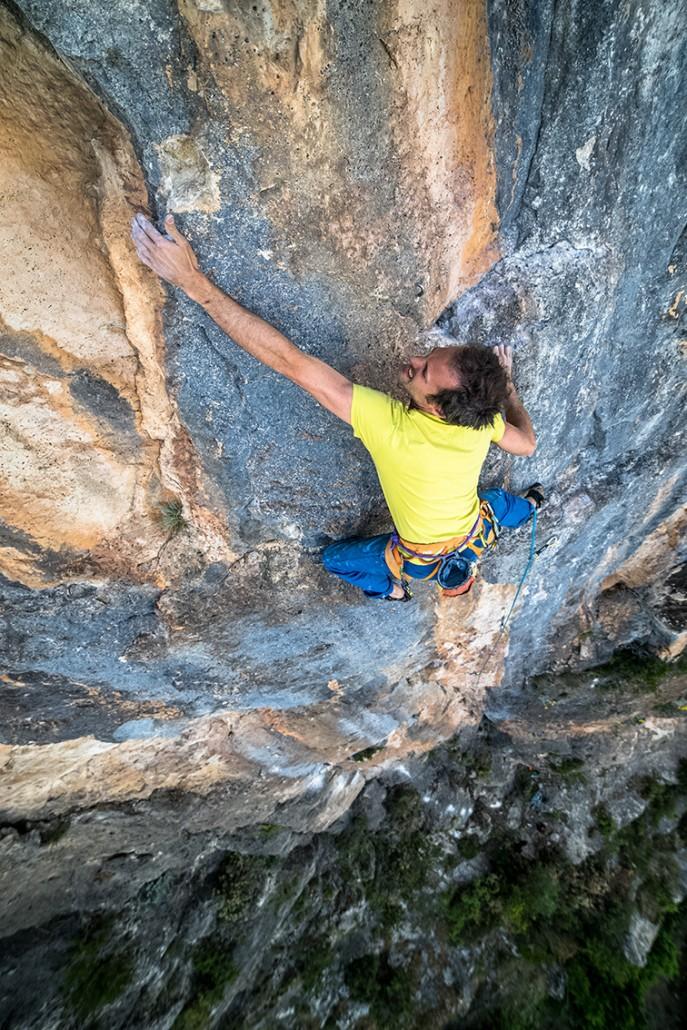 climbing in ulassai